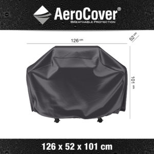 7850 BBQ hoes S buitenkeukenhoes AeroCover 126x52x101 cm