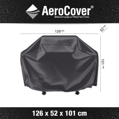 7850 BBQ hoes S buitenkeukenhoes AeroCover 126x52x101 cm