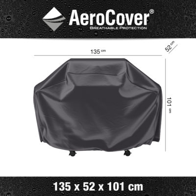 7852 BBQ hoes M buitenkeukenhoes AeroCover 135x52x101 cm