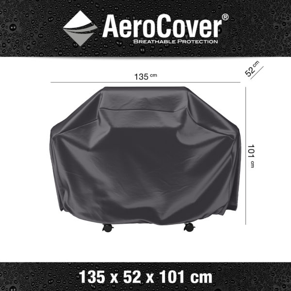 7852 BBQ hoes M buitenkeukenhoes AeroCover 135x52x101 cm
