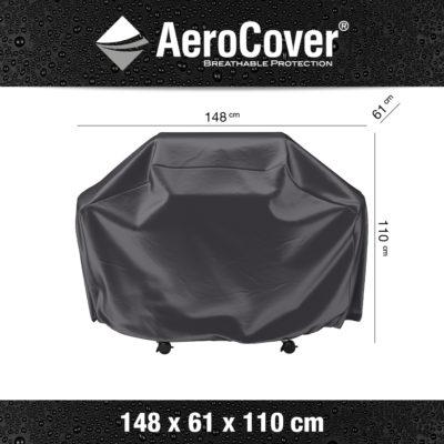7854 BBQ hoes L buitenkeukenhoes AeroCover 148x61x110 cm