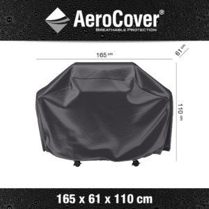7856 BBQ hoes XL buitenkeukenhoes AeroCover 165x61x110 cm