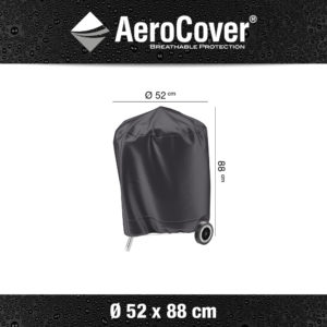 7870 BBQ hoes buitenkeukenhoes AeroCover Ø52x88 cm