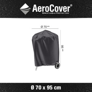 7874 BBQ hoes buitenkeukenhoes AeroCover Ø70x95 cm