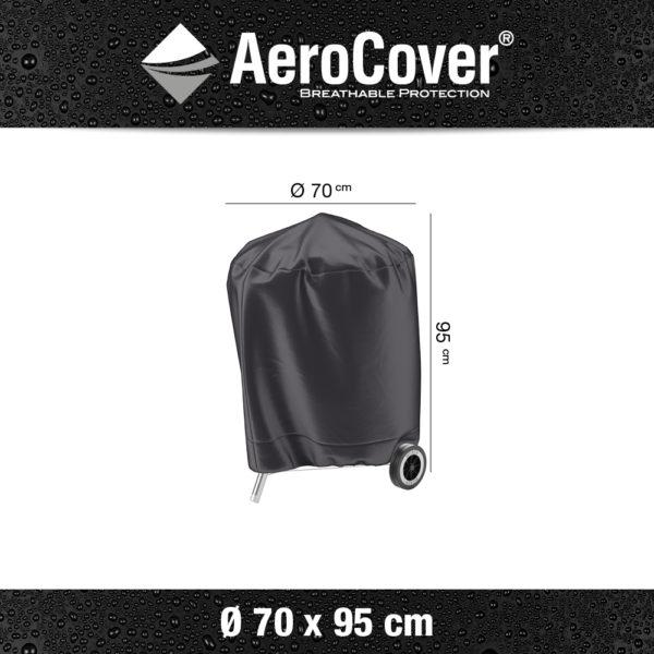 7874 BBQ hoes buitenkeukenhoes AeroCover Ø70x95 cm