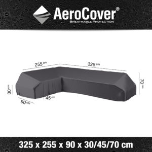7882 Loungesethoes platform links AeroCover 325x255x90x30/45/60 cm