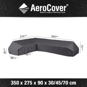 7884 Loungesethoes platform links AeroCover 350x275x90x30/45/70 cm
