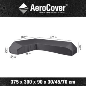 7887 Loungesethoes platform links AeroCover 375x300x90x30/45/70 cm