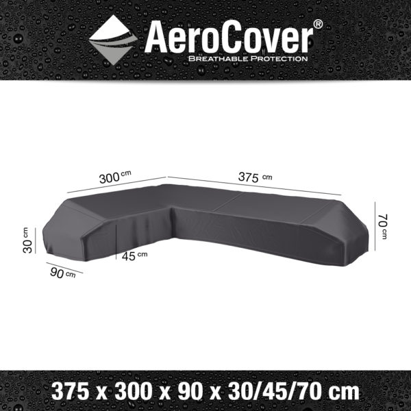 7887 Loungesethoes platform links AeroCover 375x300x90x30/45/70 cm