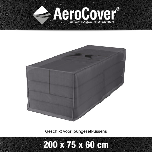 7903 Kussentas AeroCover transparant 200x75x60 cm