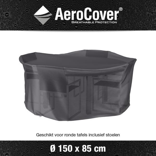 7911 Tuinsethoes AeroCover transparant Ø150x85 cm