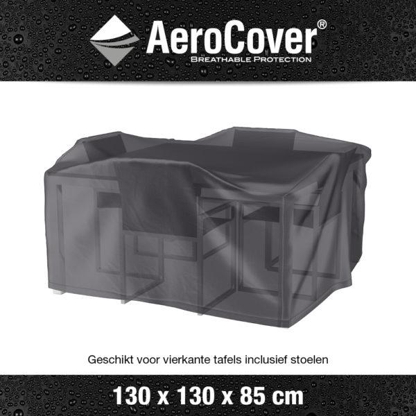 7913 Tuinsethoes AeroCover transparant 130x130x85 cm