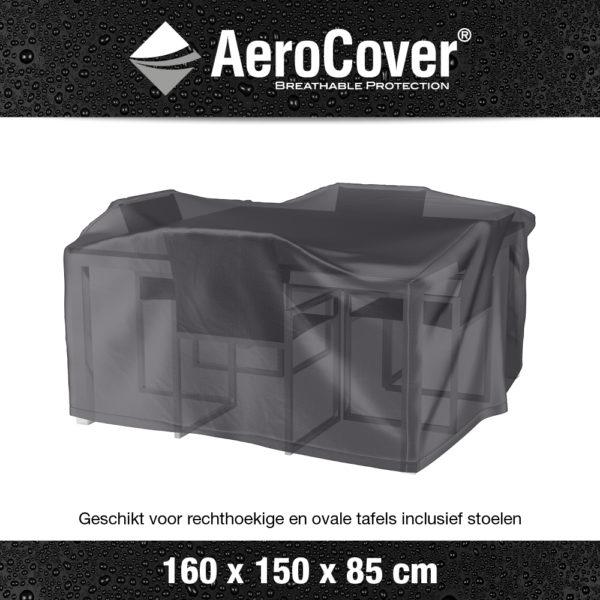 7914 Tuinsethoes AeroCover transparant 160x150x85 cm