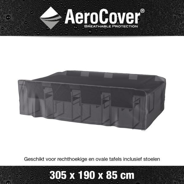 7918 Tuinsethoes AeroCover transparant 305x190x85 cm