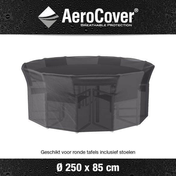 7919 Tuinsethoes AeroCover transparant Ø250x85 cm