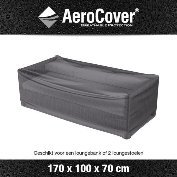 7931 Loungesethoes AeroCover transparant 170x100x70 cm