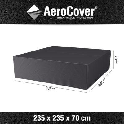 7933 Loungesethoes AeroCover 235x235x70 cm