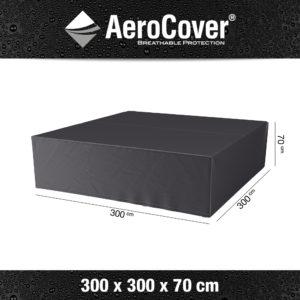 7935 Loungesethoes AeroCover 300x300x70 cm