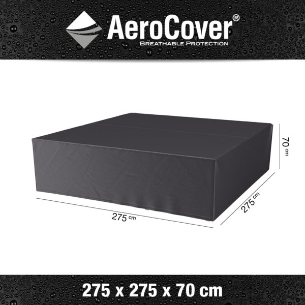 7937 Loungesethoes AeroCover 275x275x70 cm