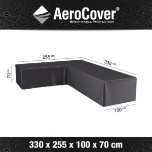 7946 Loungesethoes links AeroCover 330x255x100x70 cm