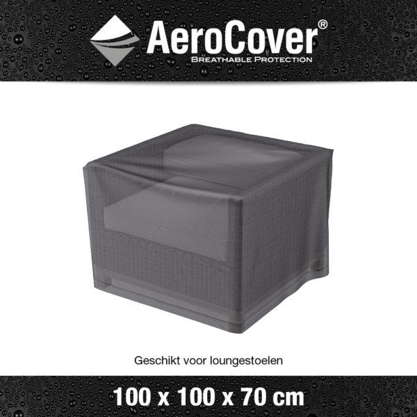 7960 Loungestoelhoes AeroCover transparant 100x100x70 cm