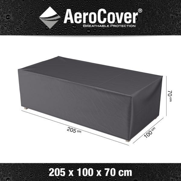 7961 Loungebankhoes AeroCover 205x100x70 cm