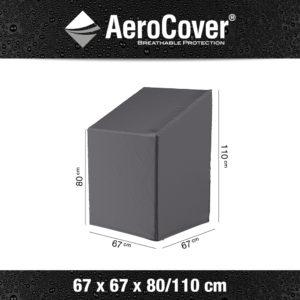 7962 Stapelstoelhoes gasveerstoelhoes AeroCover 67x67x80/110 cm