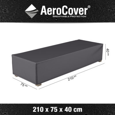 7964 loungebedhoes AeroCover 210x75x40 cm