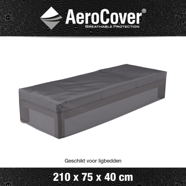 7964 loungebedhoes AeroCover transparant 210x75x40 cm