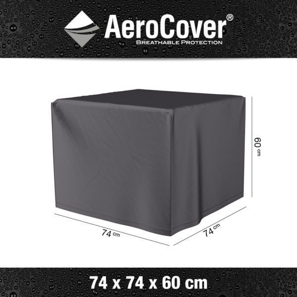 9104 Vuurtafelhoes AeroCover 74x74x60 cm