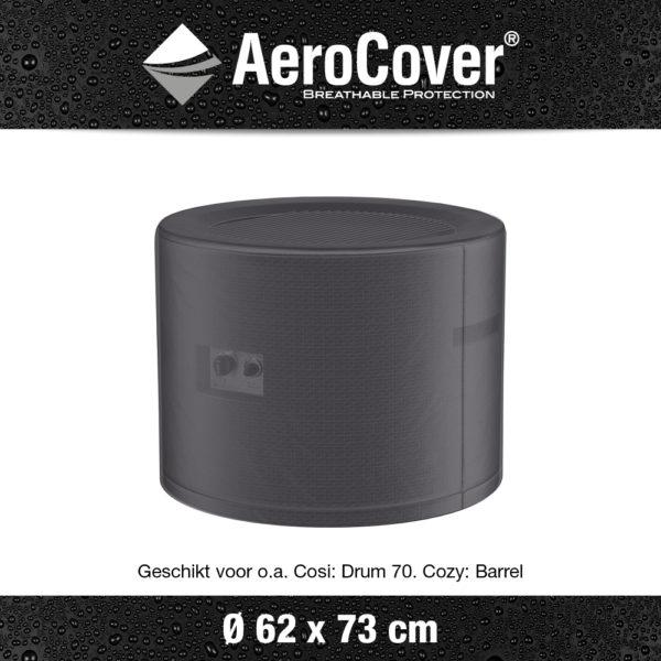 9142 Vuurtafelhoes AeroCover transparant Ø62x73 cm