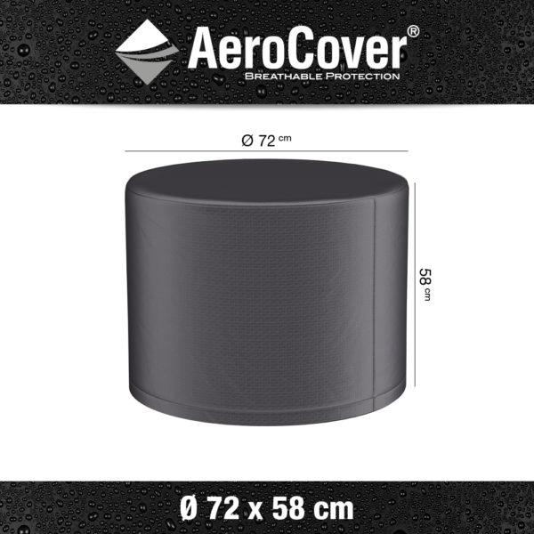 9146 Vuurtafelhoes AeroCover Ø72x58 cm