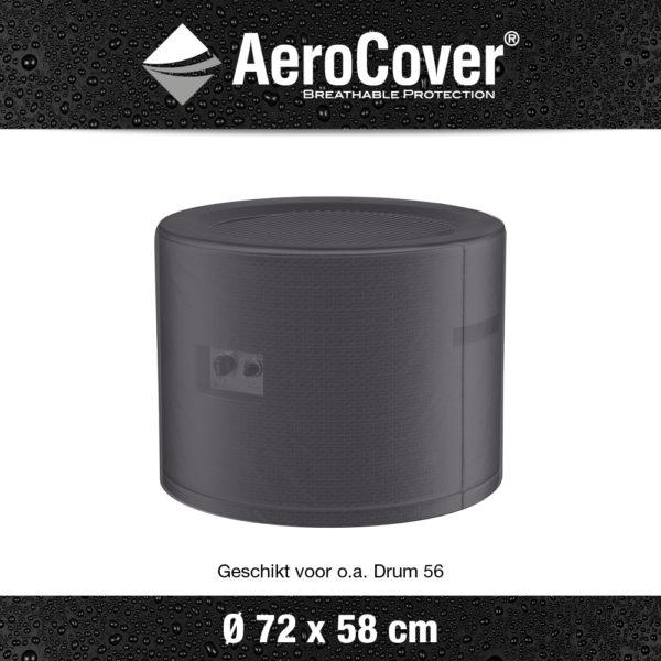 9146 Vuurtafelhoes AeroCover transparant Ø72x58 cm
