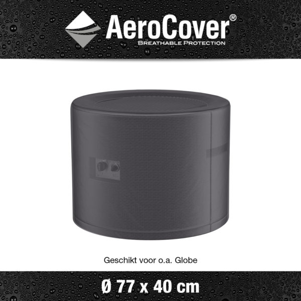 9148 Vuurtafelhoes AeroCover transparant Ø77x40 cm